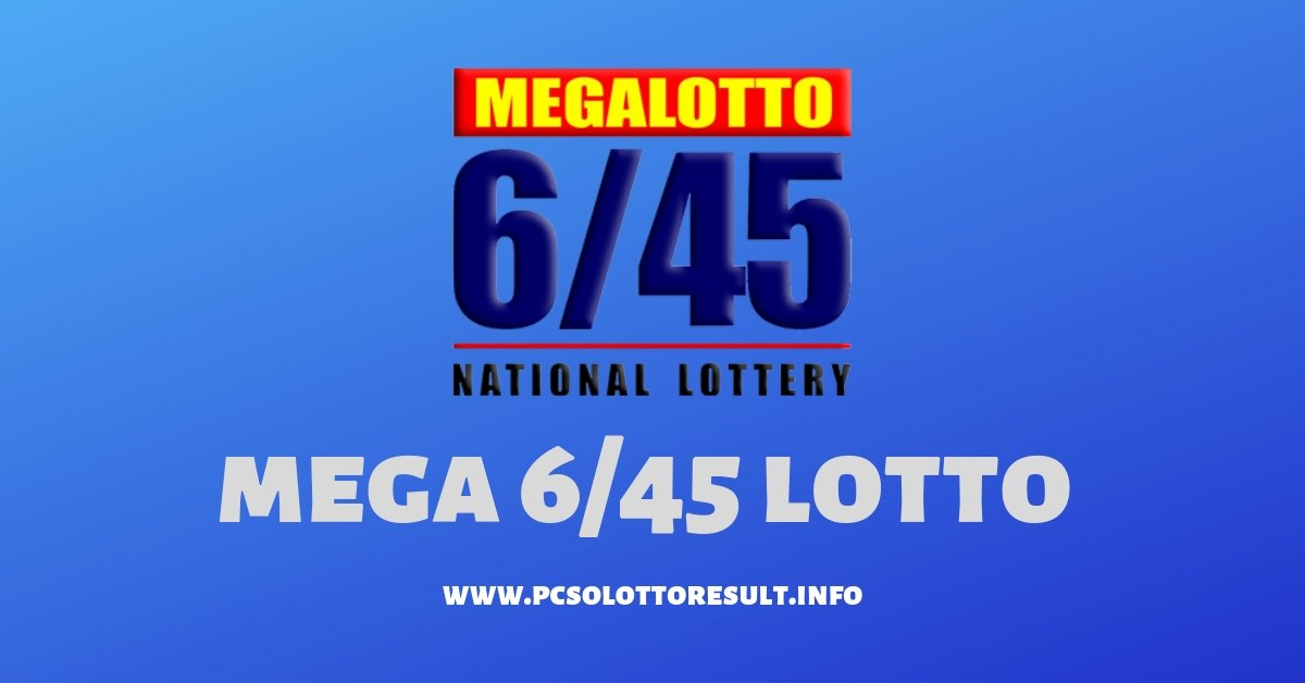 MEGA 6/45 LOTTO RESULT September 20, 2019